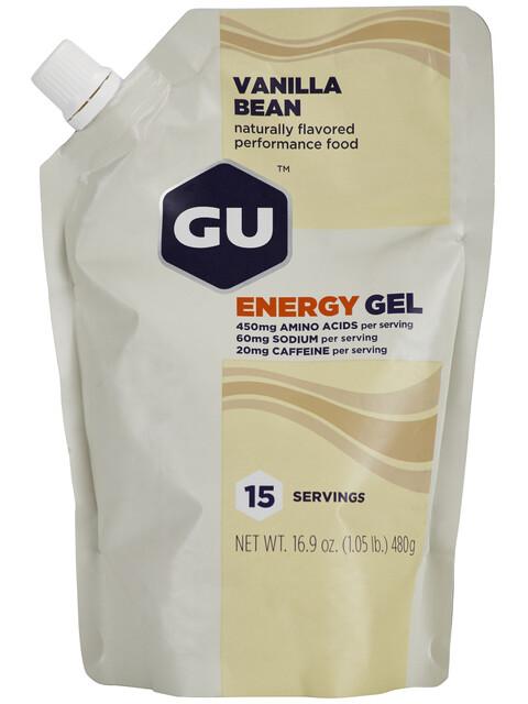 GU Energy Energy Gel Vanilla Bean 480g
